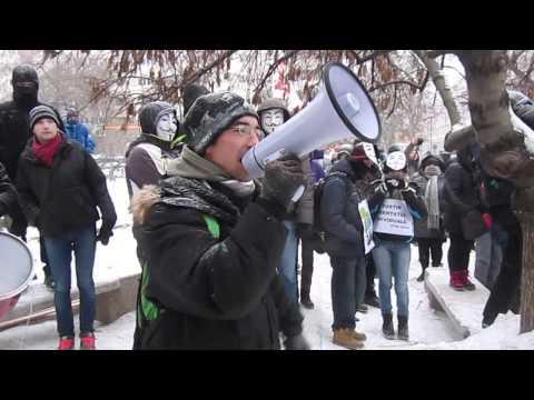Protest Stop ACTA la București. Ziua 30