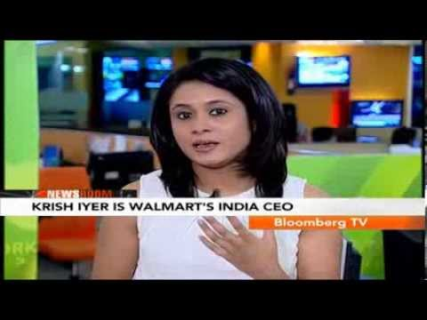 Newsroom- Krish Iyer Is Walmart's India CEO