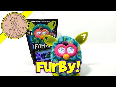 Furby Boom 2013 App - Part 1 - Collect Furbucks and Pamper Your Furby