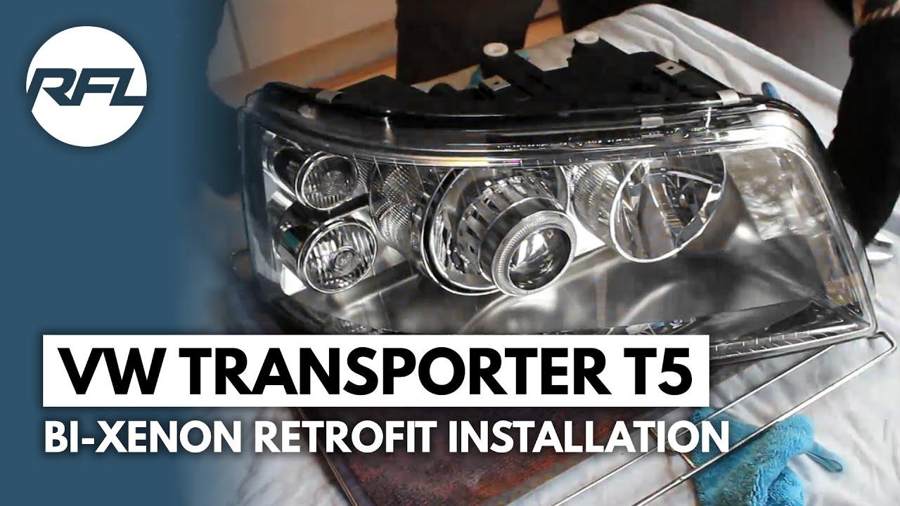 volkswagen transporter t5 bi xenon projector retrofit. Black Bedroom Furniture Sets. Home Design Ideas