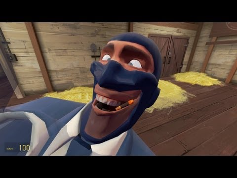 TF2:Herp' De' Derp' Spy - YouTube