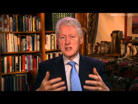 NEWSNIGHT: Bill Clinton on Nelson Mandela
