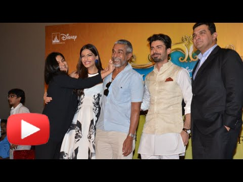 Khoobsurat Trailer Launch | Sonam Kapoor, Fawad Khan - UNCUT