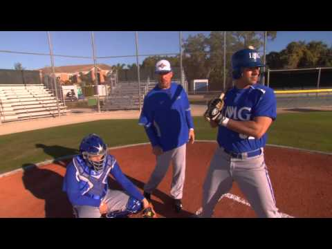 Catcher Drills - Catcher Fundamentals Series by the IMG Academy baseball program (1 of 6)