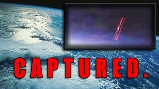 "Major ""Black Knight"" UFO Captured In Space Above Earth"