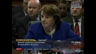 Ted Cruz Takes On Dianne Feinstein About Gun Control 3/14