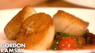 how to cook sea scallops video