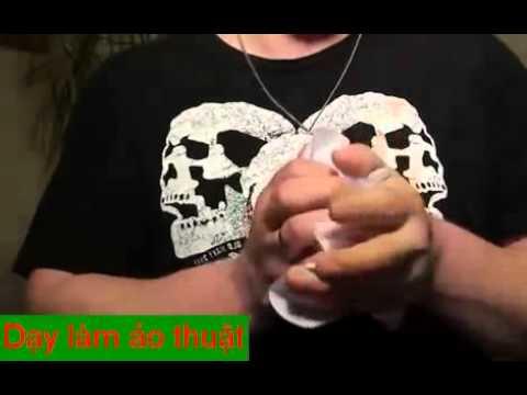 Hướng dẫn ảo thuật làm giấy bay lơ lửng trong không khí không dùng dây    Game   YouTube 360p