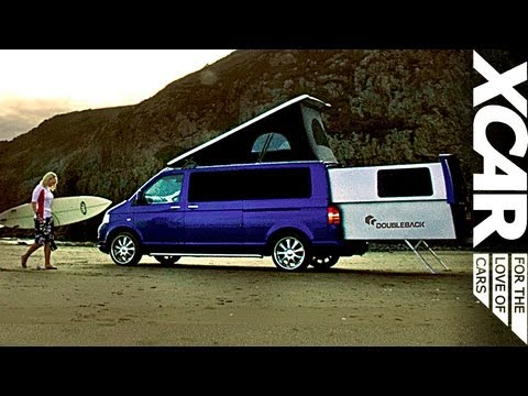 vw doubleback epic roadtrip featuring surfing sheep xcar youtube. Black Bedroom Furniture Sets. Home Design Ideas