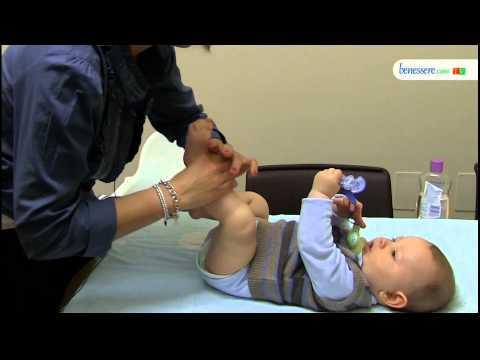 Il massaggio neonatale: tecniche e proprietà