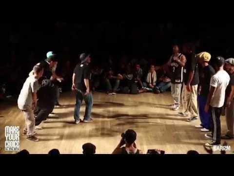 Makeyourchoice 2014-Finale-Shie-chan/Loic/Vovan/Ben/HiroVSColas/PLock/Firelock/Niako/Creesto-Karism