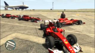 GTA IV F1 Mod (very Very Loud Engine Sound And Monster