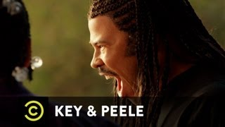 Key & Peele: Freestyle Rap Battle, MC Can't Keep his Hype Man in Check