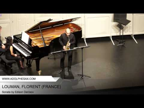 Dinant 2014 - LOUMAN, Florent (Sonate by Edison Denisov)