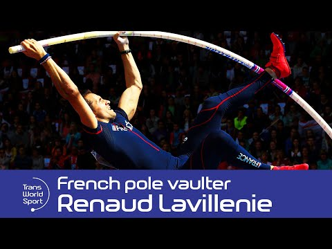 Renaud Lavillenie on Trans World Sport