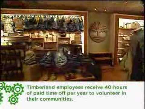 ECO BIZ: Timberland