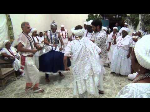 Rum de Ogum, Oxaguian e Oxalufã - Obrigação de Clenio e Julio Cesar e Olubajé 2014 Video 15