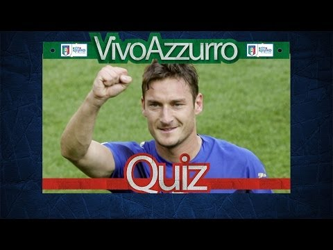 Il video-quiz su Francesco Totti - Quiz #22