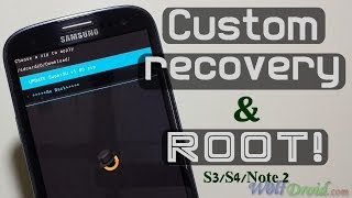 How To Install CWM Recovery + Root Samsung Galaxy S3/S4