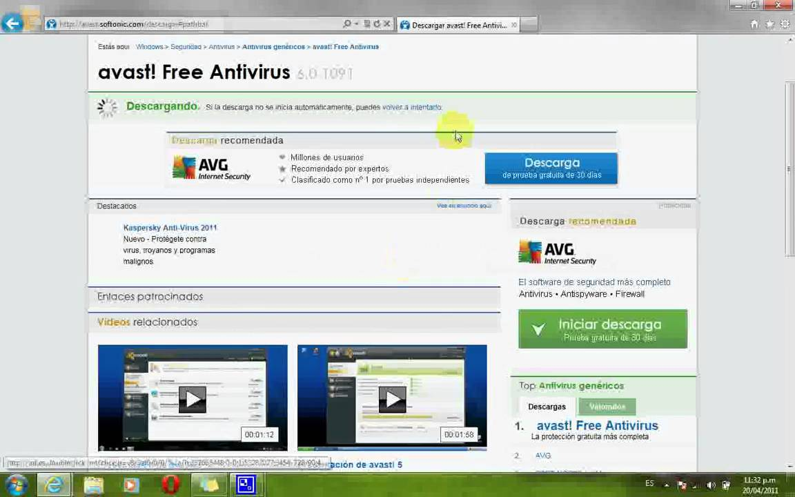 descargar e instalar antivirus gratis
