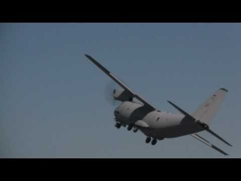 Alenia C-27J Barrel Roll & Backflip
