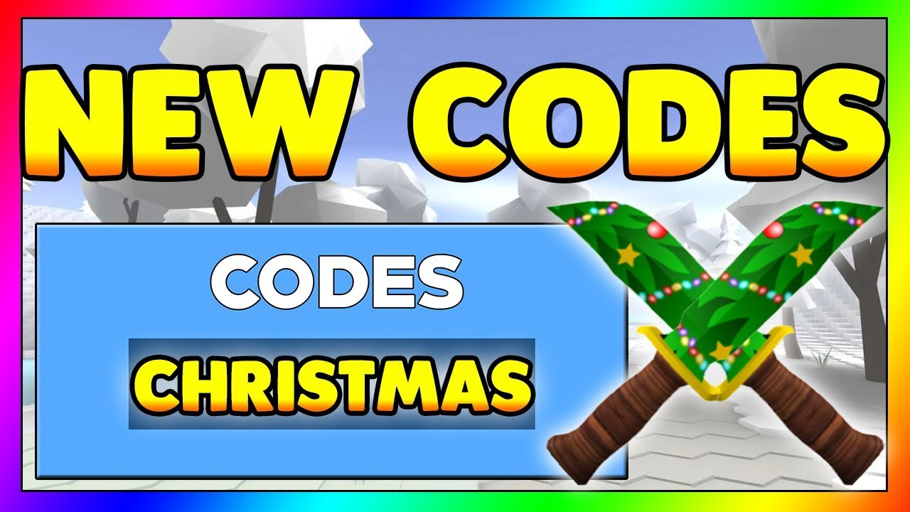 All Roblox Arsenal Codes 2019 Christmas Update Roblox Codes