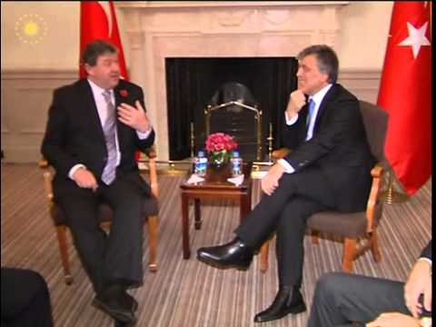 Cumhurbaşkanı Gül,Birleşik Krallık İskoçya Bakanı Alistair Carmichael'ı Kabul Etti-02.11.2013