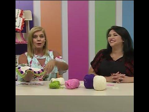 Jogo Americano com Maria José e Sandália com Strass com Andréia Bassan | Vitrine do artesanato na TV
