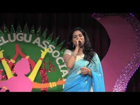 TRI-STATE TELUGU ASSOCIATION:  30TH ANNIVERSARY: MELODIOUS MOMENTS WITH SUNITHA: CHINNA MAATA