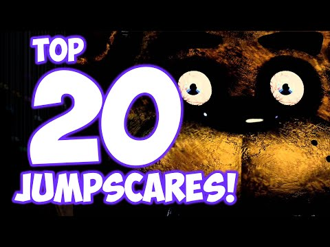 Top 20 JUMPSCARES! - Five Nights at Freddy's