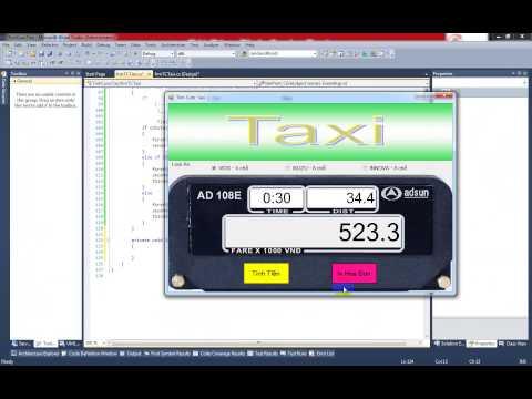 Lập Trình C# - Tính Cước Taxi - Sử dụng If và Switch