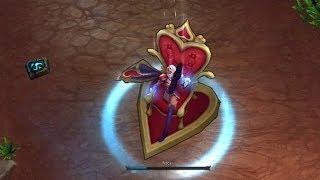LoL Heartseeker Ashe Skin Preview Gameplay! (League Of