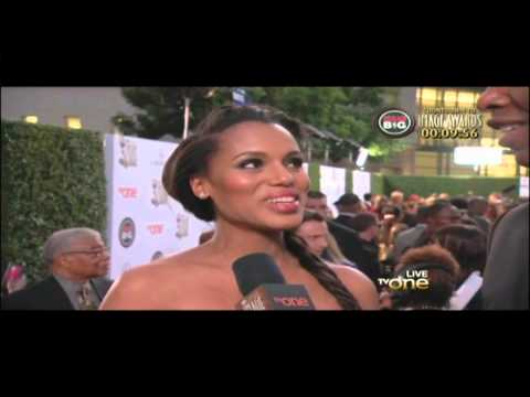 Kerry Washington NAACP Image Awards Red Carpet