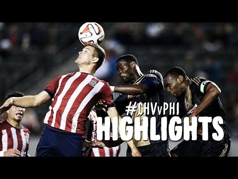 HIGHLIGHTS: Chivas USA vs Philadelphia Union | May 31, 2014