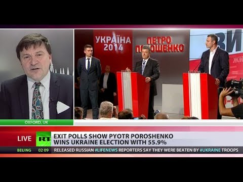 Poroshenko has tough road ahead after winning Ukrainian election