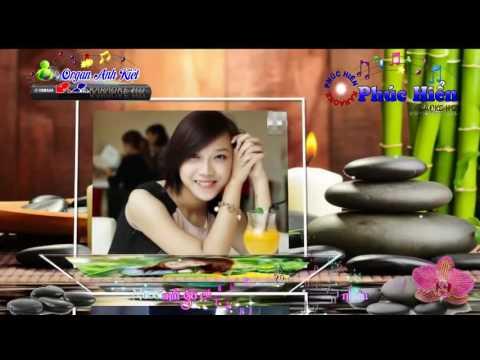 Karaoke Nhạc Sống Hoa Cài Mái Tóc Remix   Beat Anh Kiệt   S950