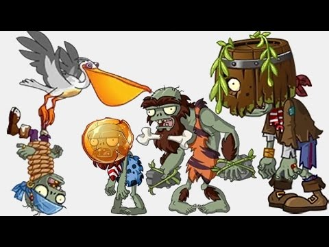 New Pirate World Zomboss 2.0 New Zombies Part 2 - Plants Vs Zombies 2