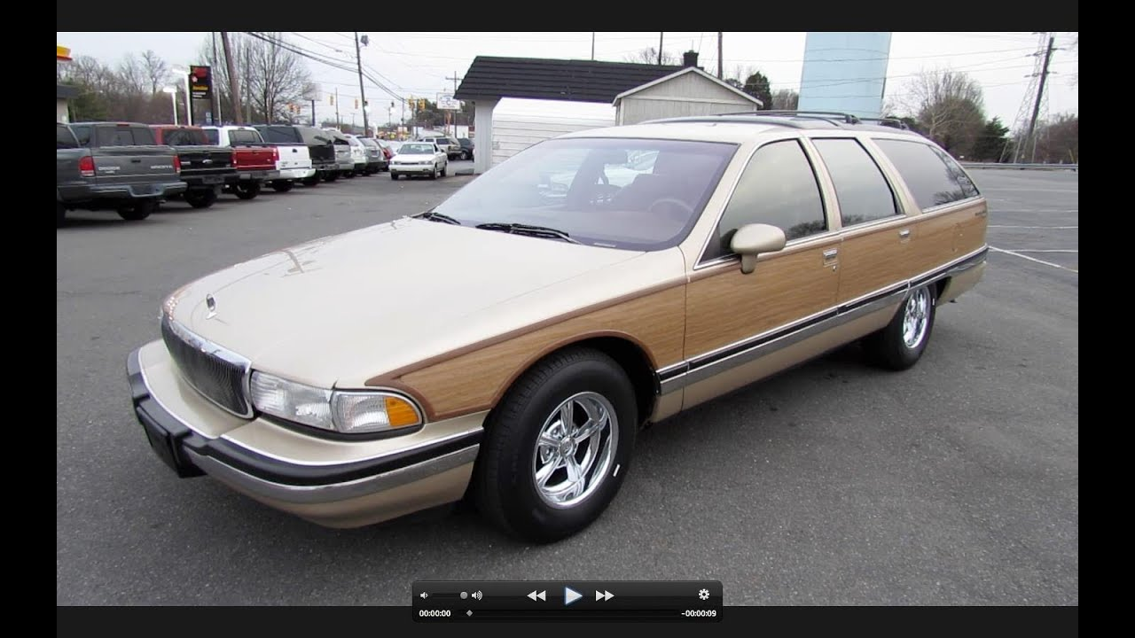 1994 buick roadmaster estate wagon start up exhaust and. Cars Review. Best American Auto & Cars Review