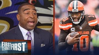 Cris Carter on why RG3 doesn't fit with Ravens, Gives Jerry Jones reality check | FIRST THINGS FIRST