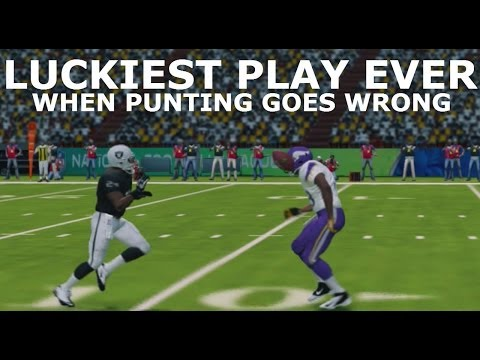 #MUT25 | LUCKIEST PLAY EVER?!? | When Punting Goes Wrong |