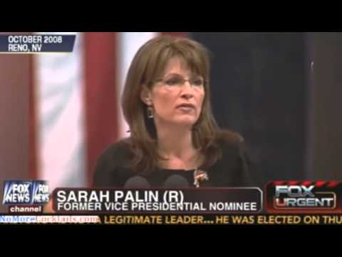 Sarah Palin: Obama's