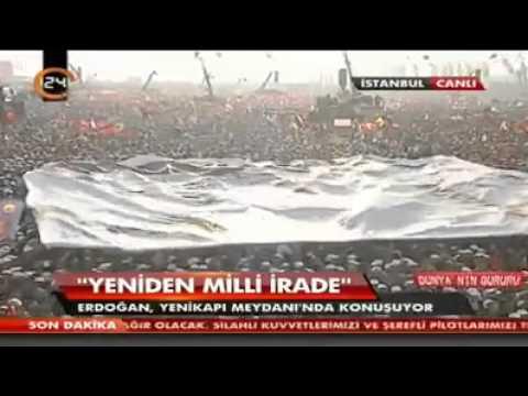 Başbakan Recep Tayyip Erdoğan Milyonları ağlattı! İşte o Muhteşem Dua