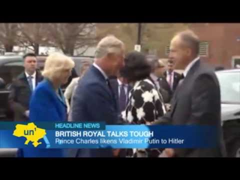 Prince Charles: 'Putin is just like Hitler'