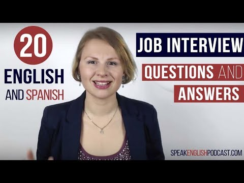 English Job Interview Questions And Answers Examples And