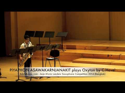 PIYAPHON ASAWAKARNJANAKIT plays Oxyton by C Havel