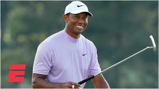 Tiger Woods two strokes back of the lead at The Masters heading into the final round | SportsCenter