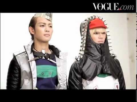 111206 SHINee Minho & Taemin - Vogue making film