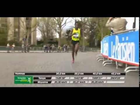 Kenenisa Bekele win Paris Marathon, smashes record