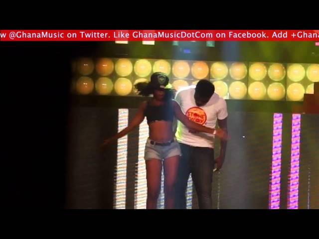 Stonebwoy - Performance @ Vodafone Ghana Music Awards 2014 | GhanaMusic.com Video