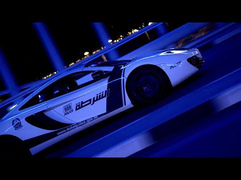 Die Dubai-Polizei: Mercedes-Benz SLS, G-Klasse, Bugatti Veyron, Bentley Continental GT, Nissan GTR, Audi RS8